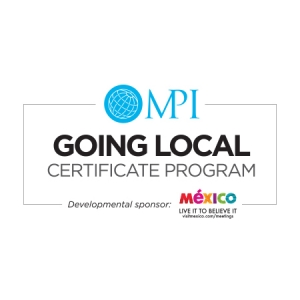 Going Local Certificate Program